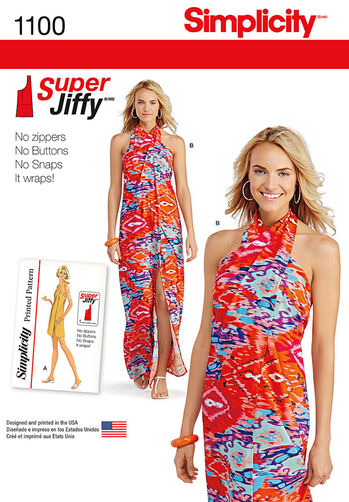 Misses' Super Jiffy Cover Up in Two Length