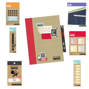 Doodle Red SMASH Folio Gift Pack_837456