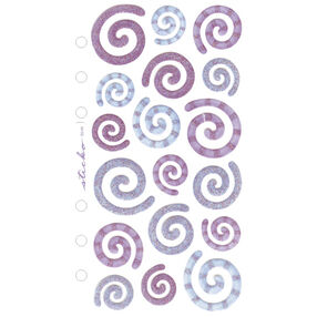 Vellum Purple and blue Swirls_SPZG09