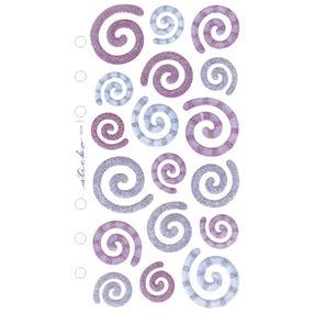 Vellum Purple and blue Swirls_SPZG09