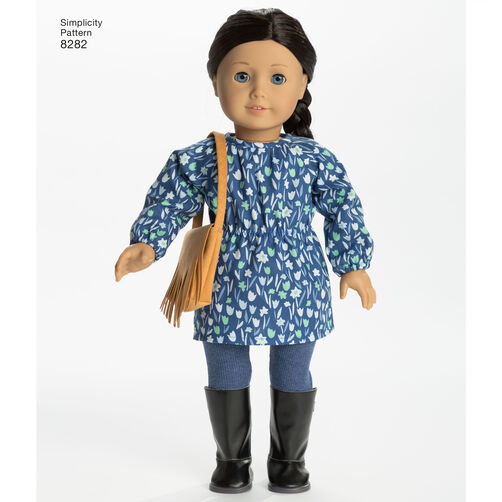 Simplicity Pattern 8282 American Girl 18 Quot Doll Clothes