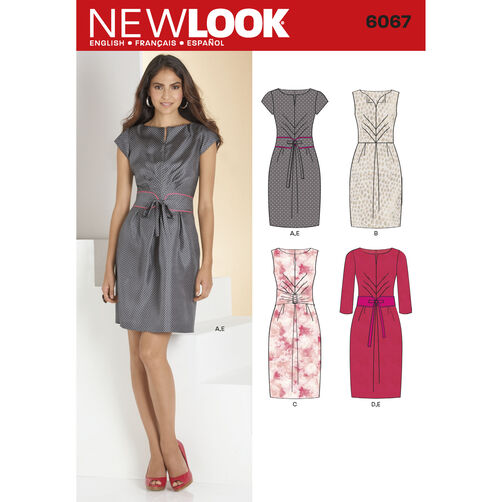 New Look Pattern 6067 Misses' Dresses