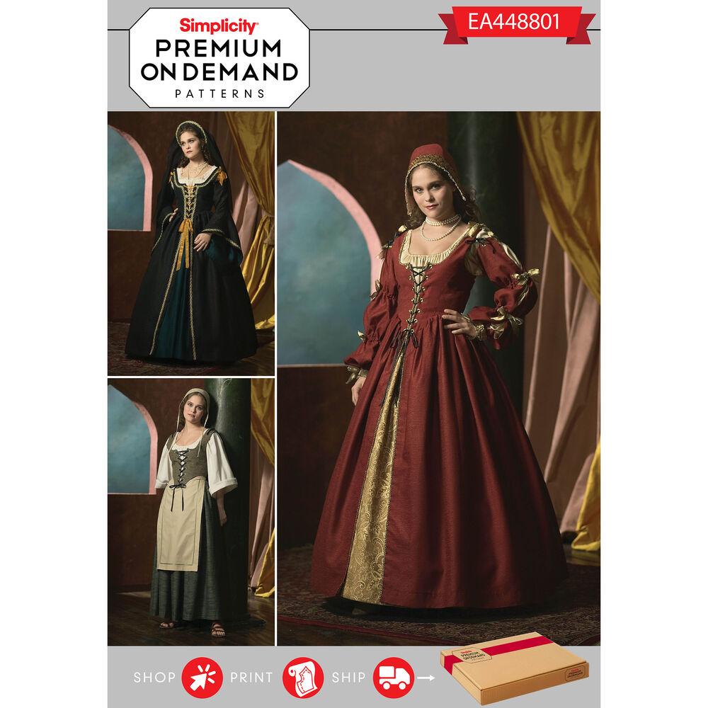 Ea448801 premium print on demand costume pattern for Premium on demand