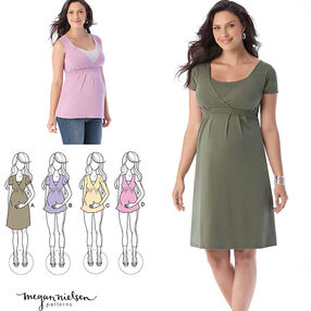 Maternity and Nursing Knit Top or Dress