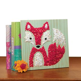 American Girl Crafts String Art Fox Kit_30-726444