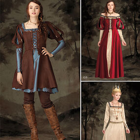 Simplicity Pattern 1773 Misses' Costume