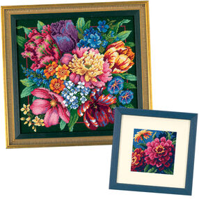 Floral Splendor Bundle, Needlepoint_060028