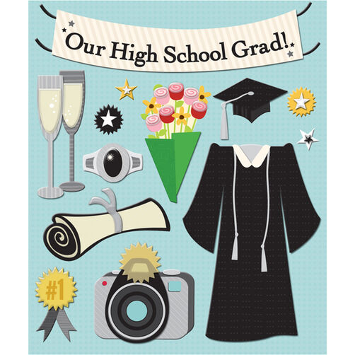 Graduation Sticker Medley_30-586833