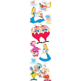 Alice In Wonderland Dimensional Stickers_51-40009
