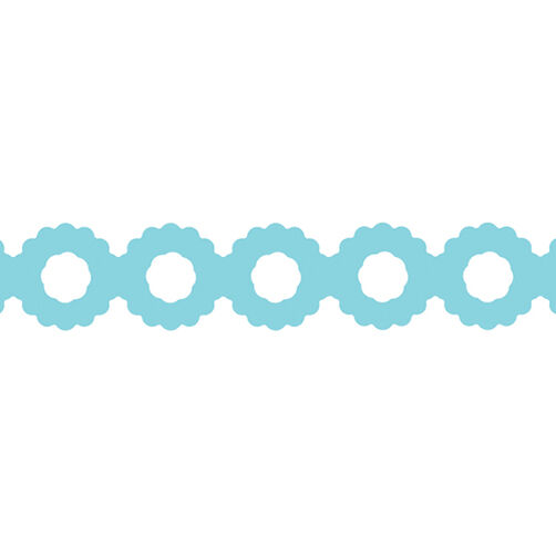 Scalloped Circle Chain Edger Punch_54-40057