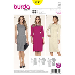 Burda Style Pattern 6890 Petite/Half Sizes