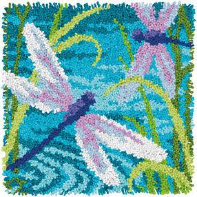 Dragonflies, Latch Hook_72-75206