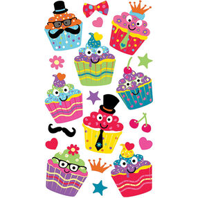 Dress Up Cupcake Stickers_52-00202