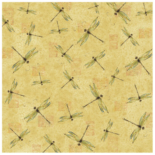 Susan Winget Nature Dragonfly Glitter Paper_30-618916