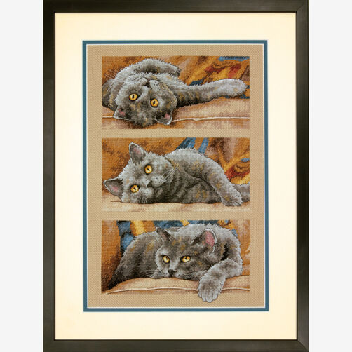 Max the Cat Counted Cross Stitch_70-35301