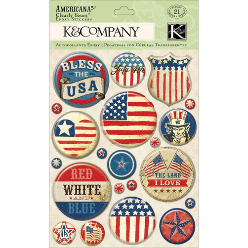 Americana Badge Clearly Yours_30-614239