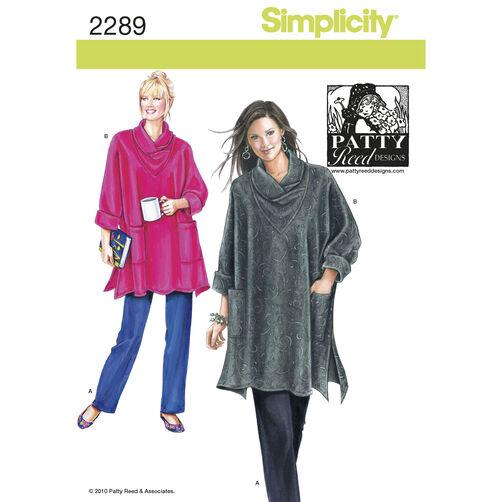 Simplicity Pattern 2289 Misses' & Women's Sportswear