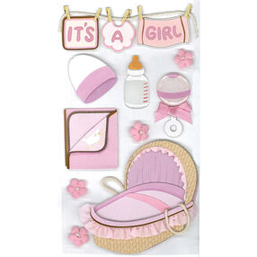 Baby Girl Stickers_50-50139