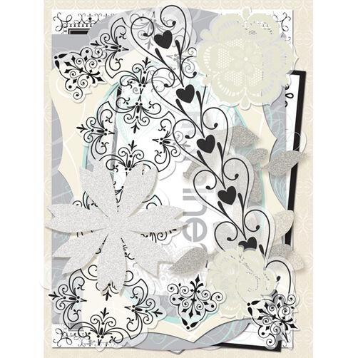 Elegance Die-Cut Cardstock & Acetate Pack _30-302419