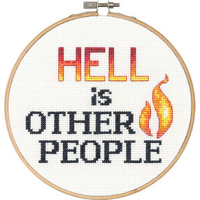 Hell, Counted Cross Stitch_70-74641