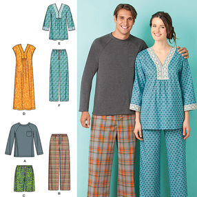 Misses' & Men's Lounge Wear