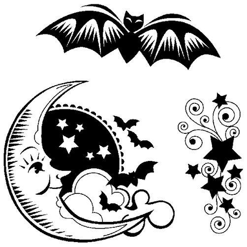 Bat & Moon_60-30201