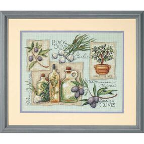 Taste of the Mediterranean, Counted Cross Stitch_35196