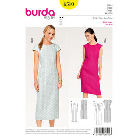 Burda Style Pattern B6510 Misses' Shift Dress