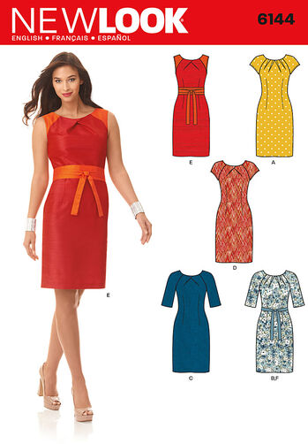 Misses' Dress and Belt