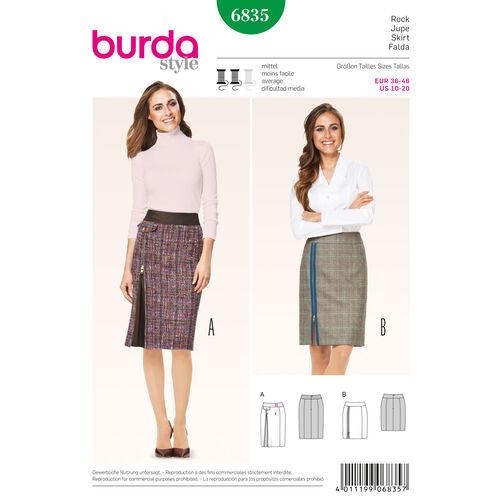 Burda Style Pattern 6835 Skirts