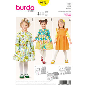 Burda Style Pattern 9373 Dress