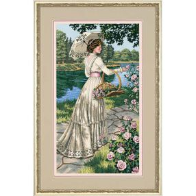 A Summer Stroll, Counted Cross Stitch_03868