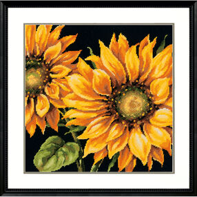 Dramatic Sunflower, Needlepoint_71-20083