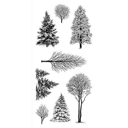 Woodland Wonderland Clear Stamp Set_60-31297