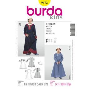 Burda Style Pattern 9473 Historic Gowns