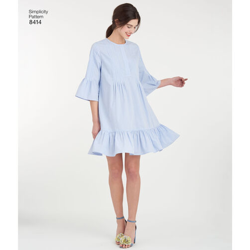 Cynthia Rowley Home Decor Collection: Pattern 8414 Misses' Dress By Cynthia Rowley