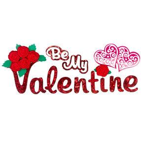 Be My Valentine Stickers_50-60288