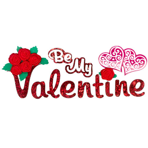 Be My Valentine Stickers_50-60288