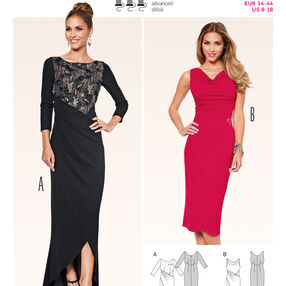 Burda Style Pattern 6867 Evening & Bridal Wear