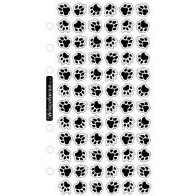 Animal Tracks Classic Stickers_SPCS11