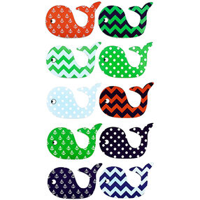 Patterned Whale Stickers_52-00255