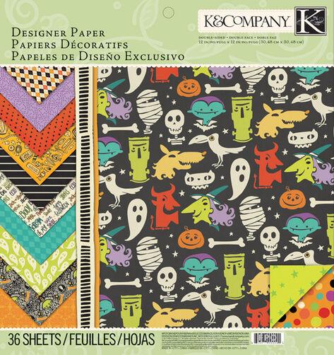 Spooky Designer Paper Pad_30-664883