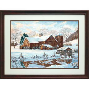 Winter Reflections, Paint by Number_91381