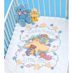 Twinkle Twinkle Quilt, Stamped Cross Stitch_03171
