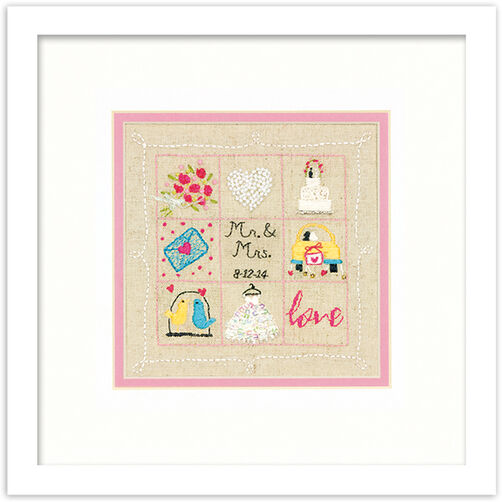 Wedding Sampler, Embroidery_72-74052