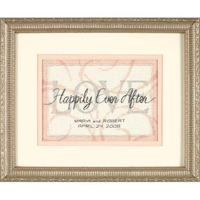 Happily Ever After Wedding Record, Counted Cross Stitch_65045