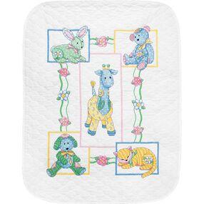 Baby's Friends Quilt, Stamped Cross Stitch_73067