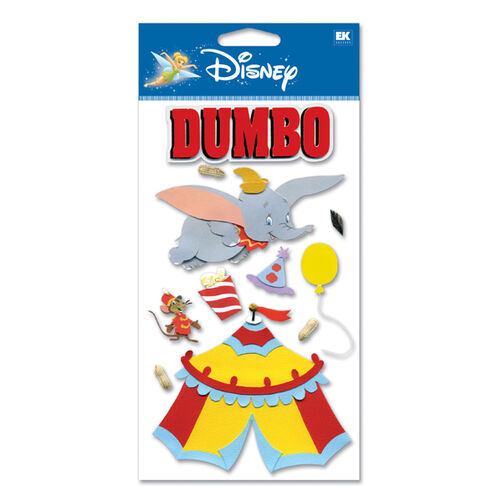 Dumbo - Soaring High Dimensional Stickers_DJBCM10