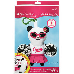 Panda Mini Animal Clip_30-683037