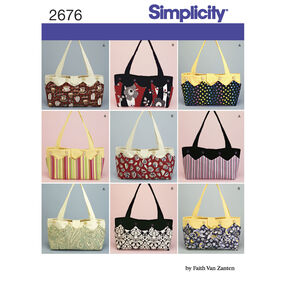 Simplicity Pattern 2676 Bag & Accessories